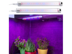 2 lampes de croissance à LED bleu / rouge