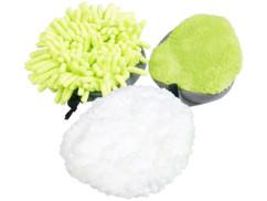 pack de 3 tetes de nettoyage pour brosse 2 en 1 pearl avec chiffons microfibre antistatique