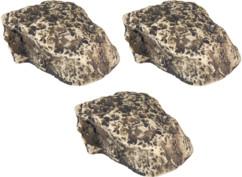 3 pierres leurres avec cachette