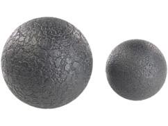Balles de massage et d'exercice Ø 8 et 12 cm