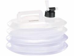 Bidon à eau pliable pour le camping / jardinage - 5 L