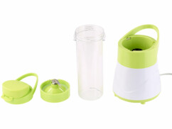 mixeur compact avec gourde sport pour jus de fruits eaux detox rosenstein & sohne br-500