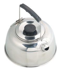 Bouilloire de camping en acier inoxydable 0,7 L
