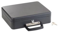 caisse a monnaie en acier fond de caisse avec organiseur de pièces et clés de sécurités xcase