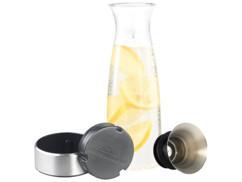 Carafe en verre avec passoire intégrée - Avec accumulateur de froid