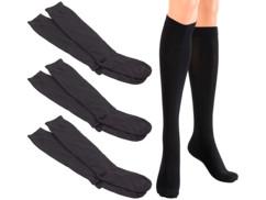 Chaussettes de contention taille L (43 - 47) - 3 paires
