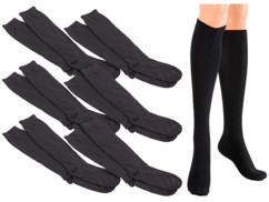 Chaussettes de contention taille L (43 - 47) - 6 paires