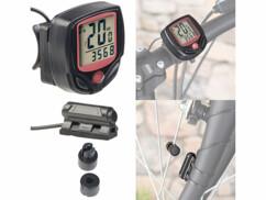 Compteur vélo numérique 15 en 1 à écran LCD - Filaire