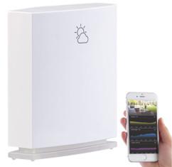 capteur meteo exterieur connecté avec application iphone android FWS-50
