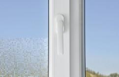 Film-déco occultant pour vitres, avec effet 3D - ''Carrés''