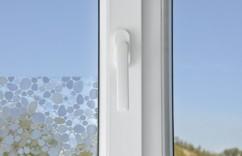 Film-déco occultant pour vitres, avec effet 3D - ''Galets''
