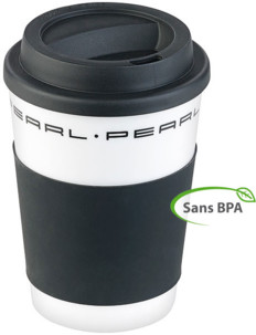 gobelet reutilisable 35cl ou 42cl pour thé et café avec couvercle