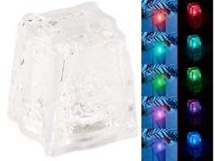 Lot de 10 glaçons lumineux avec LED