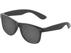 Lunettes à grille pour gymnastique et détente oculaire