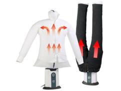 Mannequin de séchage et défroissage à air chaud 850 W avec support pantalon