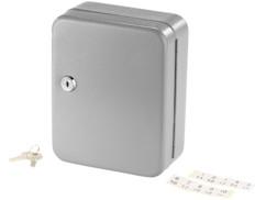 Mini armoire à clés en acier pour 20 clés