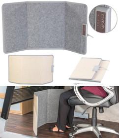 panneau chauffant infrarouge pour chaleur douce sous le bureau jambes au chaud faible consommation
