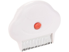 Peigne à lentes, poux et puces avec dents en métal 1,3 cm - Électrique