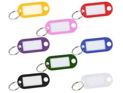 lot de 480 portes-clés de couleur avec étiquettes etanches pour rappel et bagages