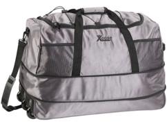grand sac de voyage ultra leger en toile avec trolley 3 roulettes capacité 100L xcase