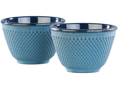 Set de 2 tasses à thé style Arare - Bleu