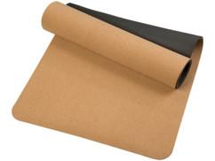 Tapis de yoga antidérapant en liège naturel 1m70