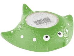 thermomètre de bain pour bébé et enfant avec ecran digital et alerte temperature trop chaude froide cybaby