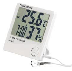 mini thermomètre digital avec sonde exterieure filaire pas cher avec hygrometre humidité pearl