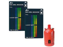 2 indicateurs de niveau de gaz pour toutes les bouteilles de gaz courantes