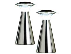 2 lampes Déco à piles