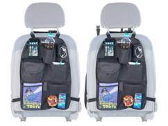 2 organiseurs universels pour siège de voiture