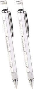 2 stylos-outil 7 en 1 avec règle intégrée