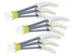3 brosses nettoyantes pour stores vénitiens avec chiffon microfibres