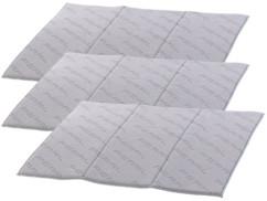 3 tapis d'égouttage pliables 40 x 50 cm