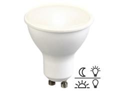 Ampoule LED avec capteur de luminosité 5 W / 300 lm / GU10 - Blanc chaud