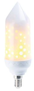 Ampoule LED effet flamme E14 / 5 W / 304 lm