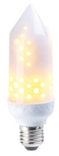 Ampoule LED effet flamme E27 / 5 W / 304 lm / A+