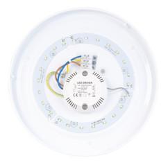 Applique/plafonnier 720 lm/12 W/Ø 26 cm, blanc chaud