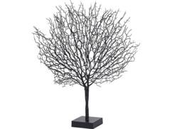 Arbre décoratif design 50 cm à LED - coloris Noir