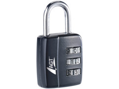 Cadenas à bagages, code numérique à 3 chiffres, 29 mm