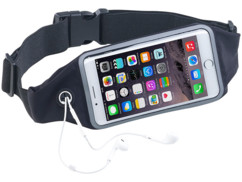 "Ceinture running élastique spécial smartphone - Jusqu'à 4,7"""