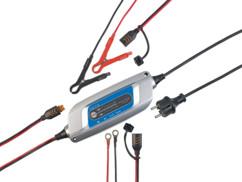 Chargeur de batterie 12V/5A avec 8 niveaux de chargement & entretien