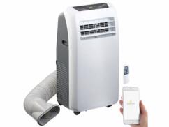 Climatiseur mobile 9000BTU/h 2600W compatible Amazon Alexa et Assistant Google