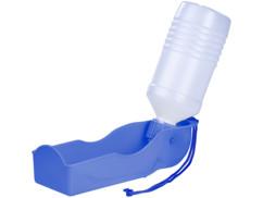 ecuelle a eau gamelle pour chien avec reservoir bouteille d'eau intégrée sweetypet