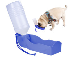 Distributeur d'eau nomade 250 ml pour chien