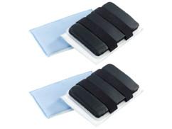 2 éponges en microfibres pour pare-brise