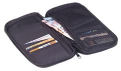 grand etui de rangement pour cartes bancaires billets de banque passeport et cartes d'embarquement billet de train pour les voyages