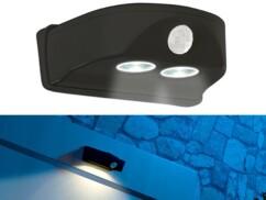 Lampe de porte sans fil à LED avec détecteur de mouvement - Noir