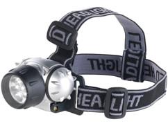 lampe frontale 7 LED avec variateur à 3 niveaux avec faiceau réglable et orientable SL-90 lunartec
