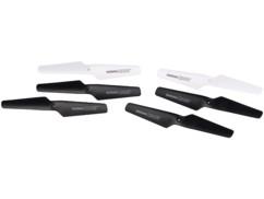 pack de 6 rotors blancs et noirs pour drone hexacoptère gh-50.cam nx9133 simulus